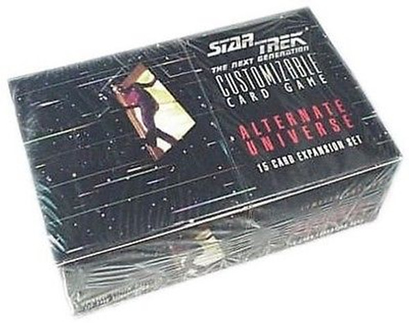 Star Trek Next Generation CCG (Decipher) Alternate Universe Booster Box (1995)