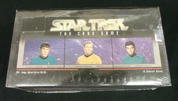 Star Trek Next Generation CCG (Decipher) 12 Starter Deck Display (1995)