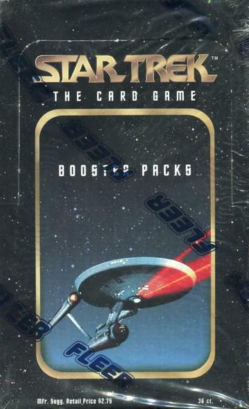 Star Trek: The Card Game (Fleer) Booster Box (1996)