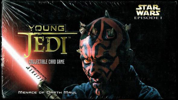 Young Jedi CCG - Menace of Darth Maul 12 Box Display (1999)