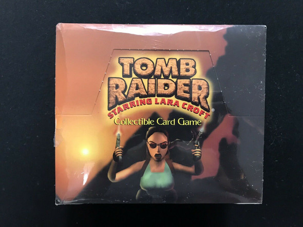 Tomb Raider CCG 10 Starter display Box (1999) - Sealed