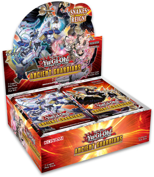 Yu-Gi-Oh! - Ancient Guardians Booster Display