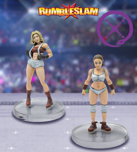 RUMBLESLAM Female Brawler & Female Grappler