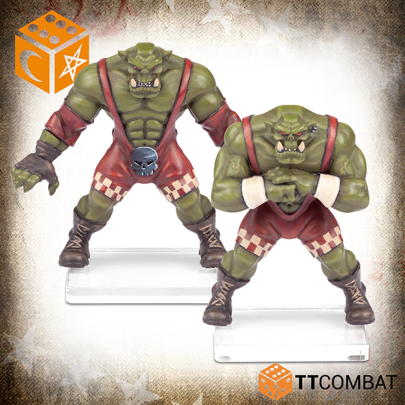 RUMBLESLAM Orc Brawler & Orc Grappler