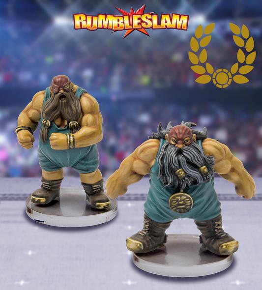 RUMBLESLAM Dwarf Brawler & Dwarf Grappler