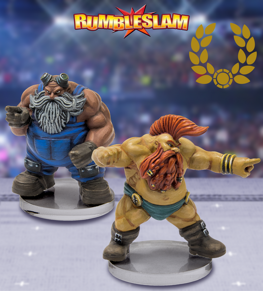 RUMBLESLAM Dwarf Mechanic & Glory Seeker