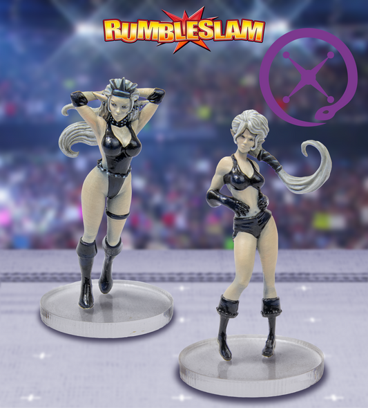 RUMBLESLAM Dark Elf Brawler & Dark Elf Grappler