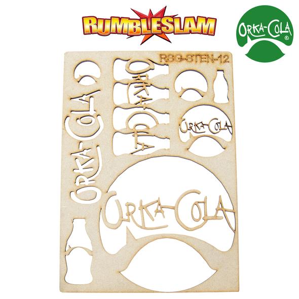 RUMBLESLAM Orka-Cola Stencil