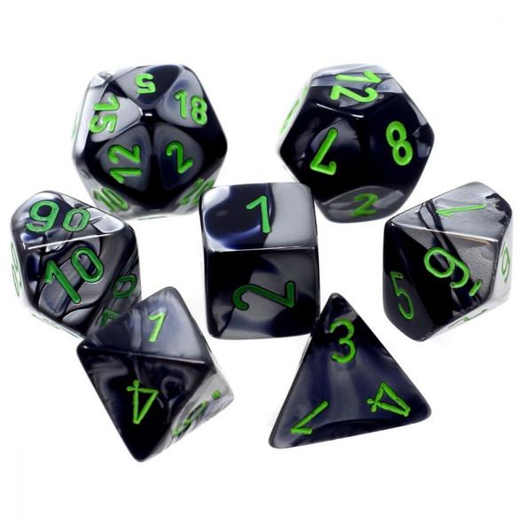CHX 26445 Gemini Black-Grey/Green 7-Die Set