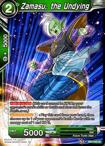 DB1-058 Zamasu, the Undying