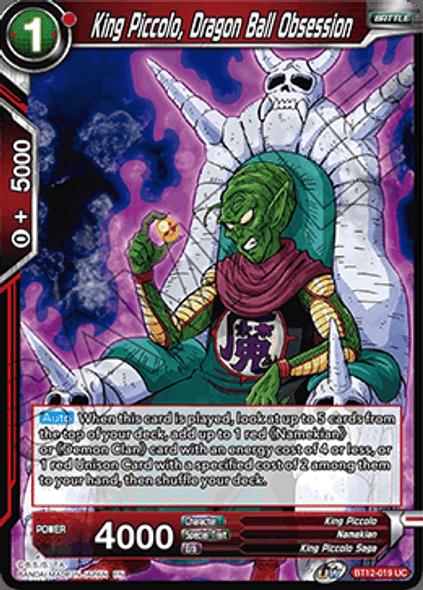 BT12-019 [UC] King Piccolo, Dragon Ball Obsession