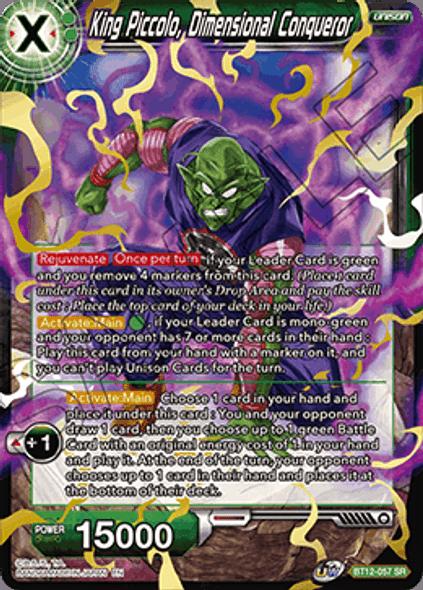 BT12-057 [SR] King Piccolo, Dimensional Conqueror