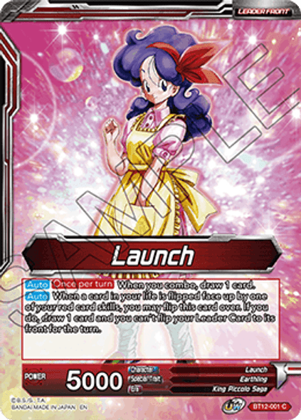 BT12-001 [C] Launch / Launch, Nothing to Sneeze At - Foil