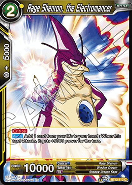 BT12-112 [C] Rage Shenron, the Electromancer - Foil