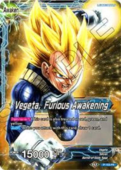 P-163 Vegeta / Vegeta, Furious Awakening