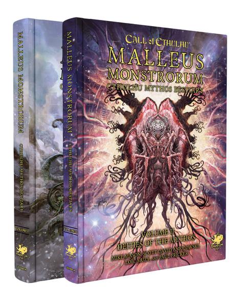 Malleus Monstrorum: Cthulhu Mythos Bestiary (2 Volume Slipcase Set) (On Demand)