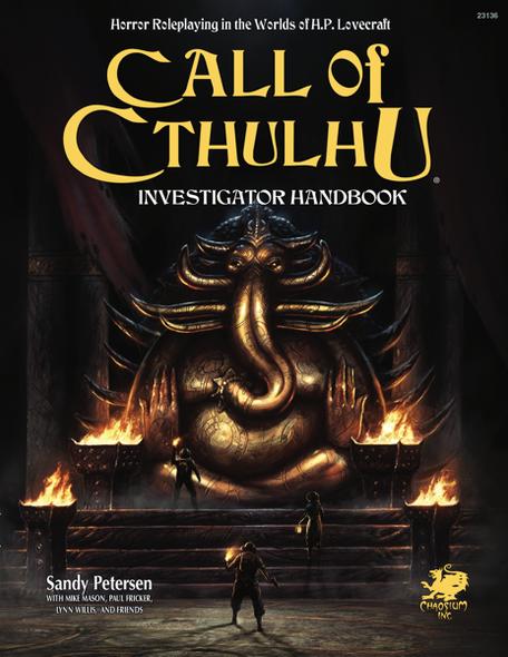 Call of Cthulhu Investigator Handbook Hardcover