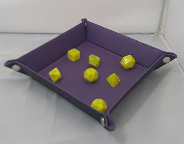 Folding Dice Tray (Purple)