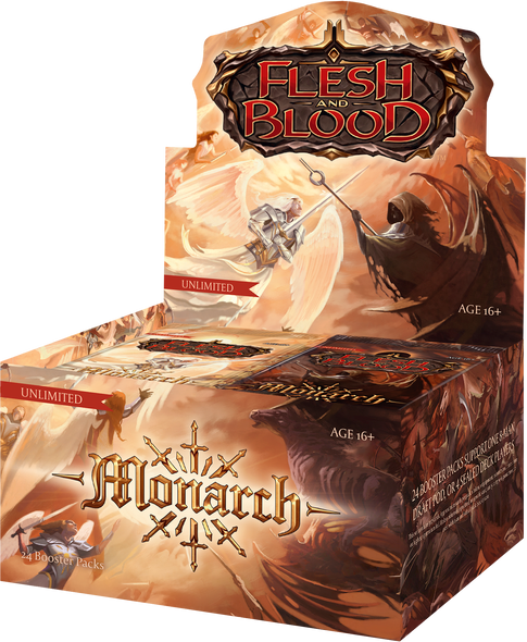 Flesh and Blood Monarch Booster Box - Unlimited