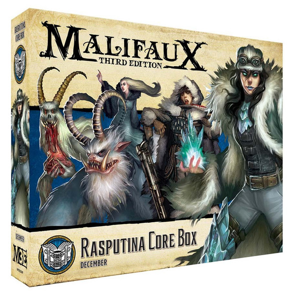 Arcanists: Rasputina Core Box (On Demand)