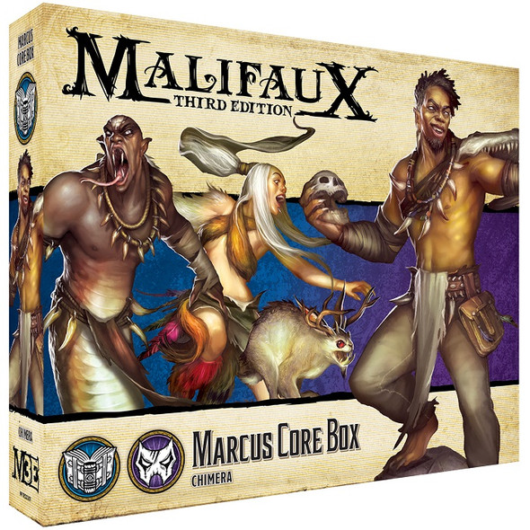 Arcanists: Marcus Core Box (On Demand)