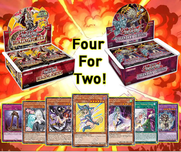 Yu-Gi-Oh - Four for Two March Lost Art Special