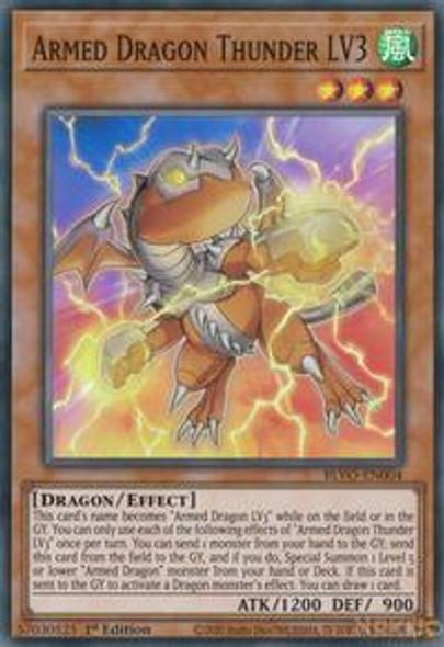 Armed Dragon Thunder LV3 BLVO-EN004  (Super Rare)