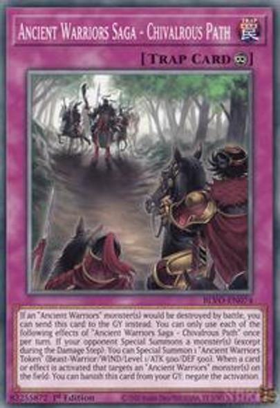 Ancient Warriors Saga - Chivalrous Path BLVO-EN074  (Common)