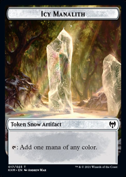 Icy Manalith Token [KHM - 17 - T]