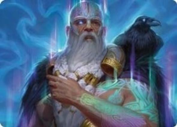 Alrund, God of the Cosmos Art Card [KHM Art Card 9]