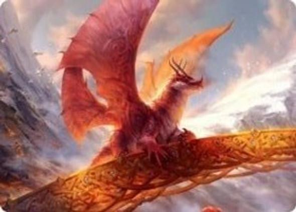 Goldspan Dragon Art Card [KHM Art Card 35]