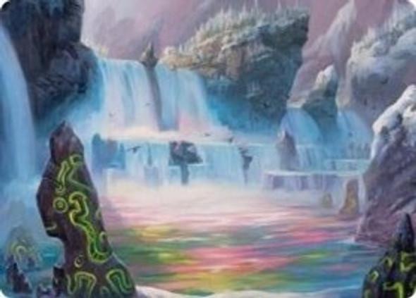 Glittering Frost Art Card [KHM Art Card 45]