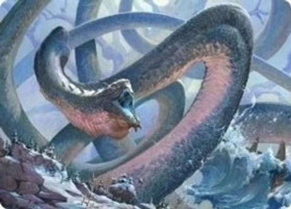Koma, Cosmos Serpent 1 Art Card [KHM Art Card 60]