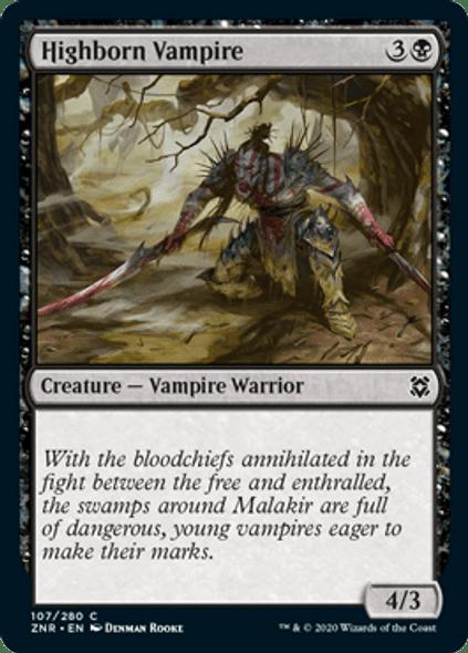 Highborn Vampire [ZEN - 107 - C]