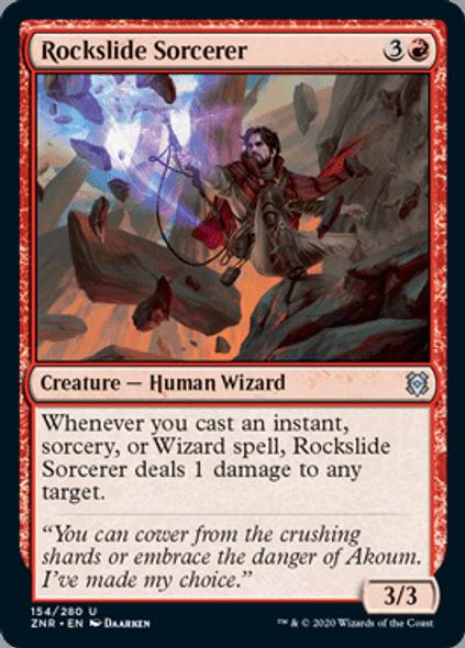 Rockslide Sorcerer [ZEN - 154 - U]
