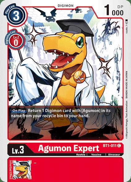 BT1-011 Agumon Expert  ( Common)