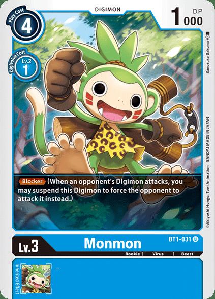 BT1-031 Monmon  ( Uncommon)