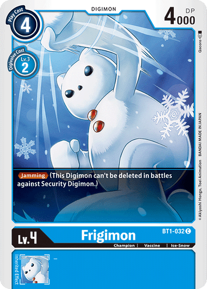 BT1-032 Frigimon  ( Common)
