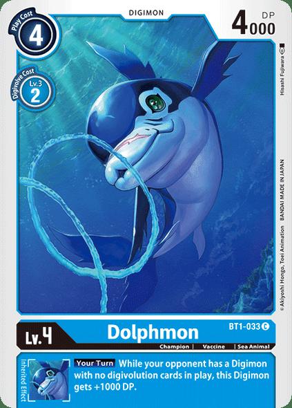 BT1-033 Dolphmon  ( Common)