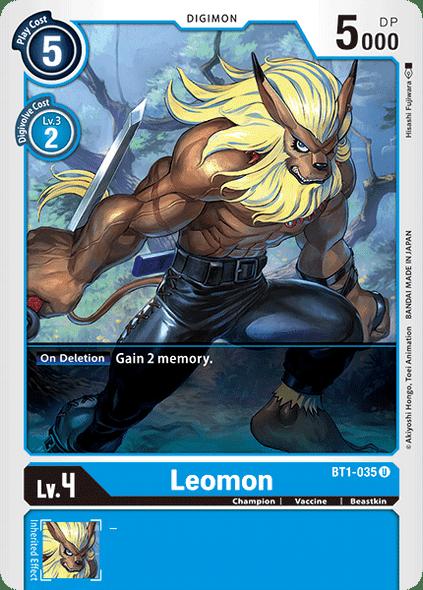 BT1-035 Leomon  ( Uncommon)