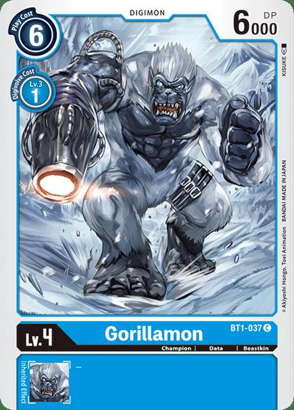BT1-037 Gorillamon  ( Common)