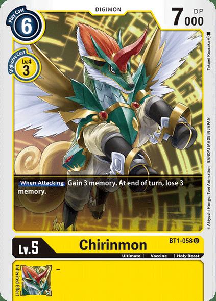 BT1-058 Chirinmon  ( Uncommon)