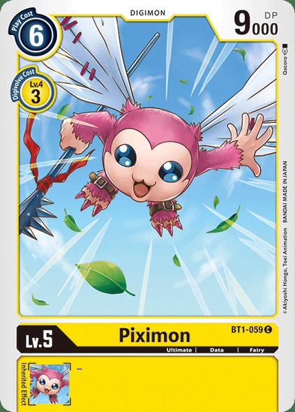 BT1-059 Piximon  ( Common)