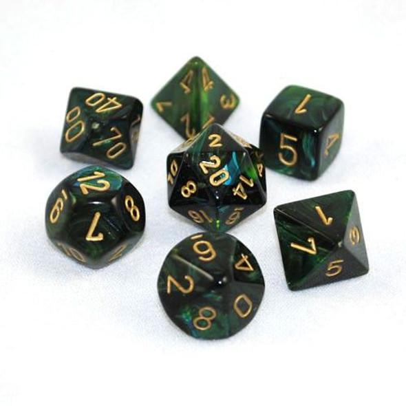 CHX 27415 Scarab Jade/gold 7-Die Set