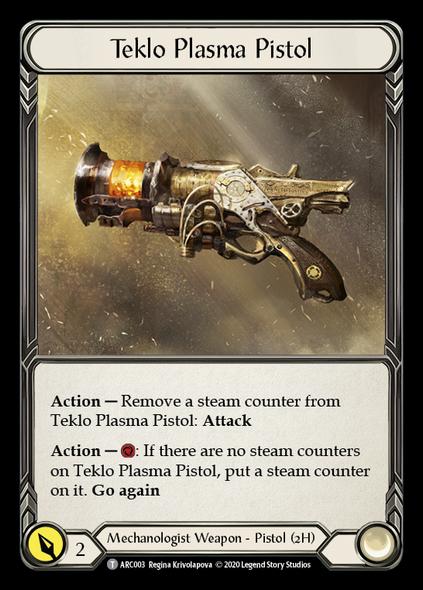 ARC003 Teklo Plasma Pistol [UNL]