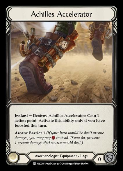 ARC005 Achilles Accelerator - Rainbow Foil [UNL]