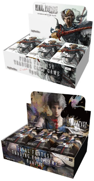 Final Fantasy Trading Card Game Opus VI and VII Bundle - March Special