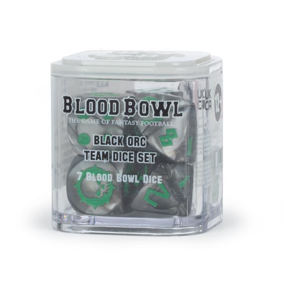 Blood Bowl – Black Orc Dice