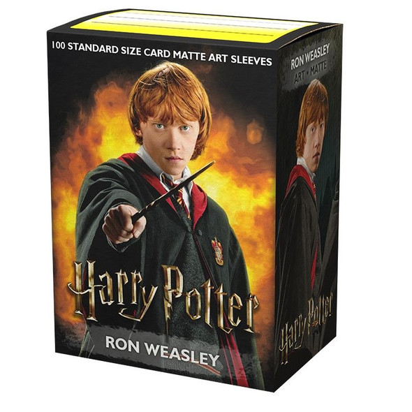 Dragon Shield - Box 100 - MATTE Art - Harry Potter - Ron Weasley