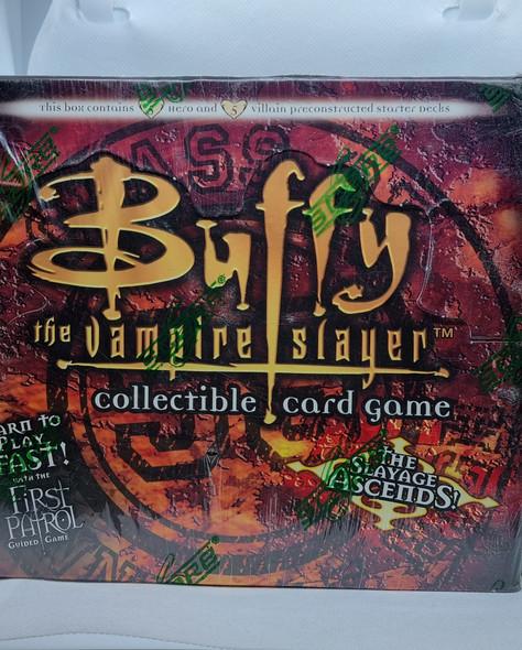 Buffy TVS Collectable Card Game Class of '99 Starter Decks